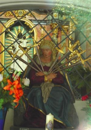 Madonna mit den sieben Schmerzen, Loretokapelle mit Schwarzer Madonna bei Bad Zurzach, eigenes Werk